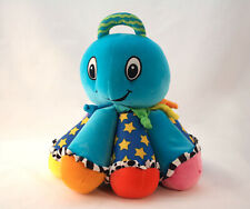 Lamaze Blue Octopus Musical Baby Learning Toy Octotunes Baby Sensory Learning