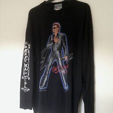 Johnny Hallyday T-SHIRT LA TOURNEE DES STADES 2003 Rare Collector