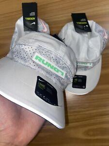 DISCONTINUED RARE Nike London Tailwind AEROBILL Cap Adjustable CI9461 100 WHITE