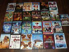 25 Walt Disney Family DVD Lot. Good Condition.