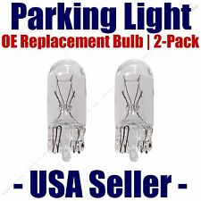 Parking Light Bulb 2-pack OE Replacement Fits Listed Acura Vehicles - 168