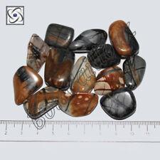 1 Pierre roulée en Jaspe Picasso 20/30mm, Minéraux, Lithothérapie
