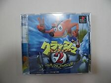 PlayStation Crash Bandicoot 2 Japan PS1