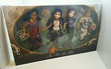 Disney descendants Villains 4-Pack mal Evie JAY & Carlos poupées