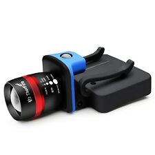 ThorFire LED Cap Light Headlamp 3 Modes Ball Hat Lamp Flashlight Zoomable NEW