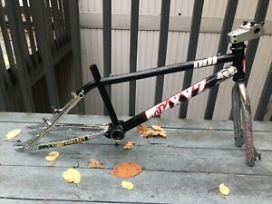 Auburn 2 Piece BMX CR20 Bike Frame Forks Headset Mid-School