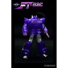 Limited Edition Clear/Translucent Fanstoys Quakwave FT-03C Masterpiece Shockwave