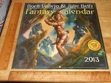 Boris Vallejo & Julie Bell's Fantasy 2013 Wall Calendar, Illustration w/Caption