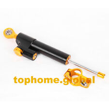 Universal Adjustable Steering Damper Stabilizer For Yamaha Honda Ducati Kawasaki