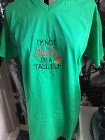 Adult Novelty Christmas Jumper Alternative Teeshirt T-Shirt Festive Elf Unisex