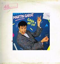 """Maxi 12"""" 30cms: Martin Garat: gaga de toi. CBS. 4."""