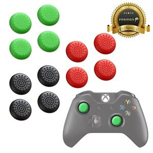 4x Silicone Analog Thumb Stick Grip Caps Cover for Xbox One X Elite Controller