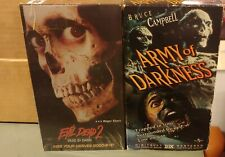 1998 The Evil Dead 2 Dead By Dawn Starring Bruce Campbell Vhs Tested