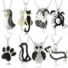 Unbranded Animals Insects Diamond Fine Necklaces & Pendants