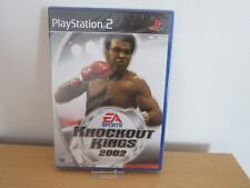 PS2 Knockout Kings 2002, GB Pal , Neuf & sony Usine Scellé