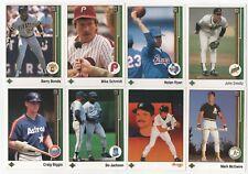 HUGE 1989 Upper Deck Baseball Lot Of 1500 Cards Stars Rookies HOF Commons All NM