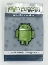 STANDARD GREEN ANDROID COLLECTIBLE ENAMEL LAPEL PIN ANDREW BELL ANDROID FOUNDRY