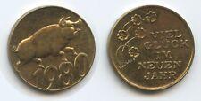 L2219 - Glücksbringer 1980 Glücksschweinchen - Viel Glück im neuen Jahr
