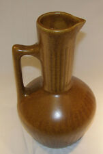 Monmouth Pottery Maple Leaf Brown water Decanter Ewer -  Mid-Century Modern
