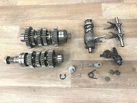 87-93 Kawasaki EX500 Ninja Transmission Assembly Gears Shafts Forks Drum
