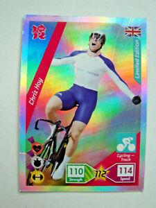 Panini Olympics 2012 Chris Hoy  Limited Edition Trading Card Adrenalyn XL