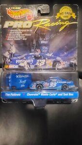 NEW SEALED RARE Hot Wheels Pro Racing Pit Crew 1998 - # 33 Tim Fedewa NASCAR
