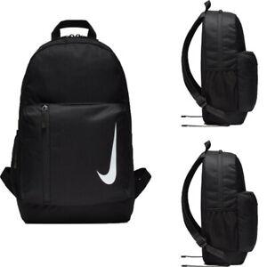 Nike Backpack School Bag Academy Team Gym Sports Bags Rucksack Backpacks Black