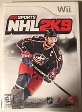 NHL 2K9 Nintendo Wii (with Manual Book)