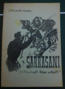 Heft Circus Sarrasani Geschichten von A.F. Linden Zirkus