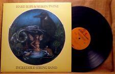 FOLK ROCK LP: INCREDIBLE STRING BAND, HARD ROPE & SUNKEN TWINE Reprise MS 2198