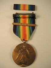 New listing Ww I victory medal with Italy bar & ribbon bar