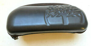 Timberland Sunglasses Eye Glasses Case Zipper Brown Faux Leather