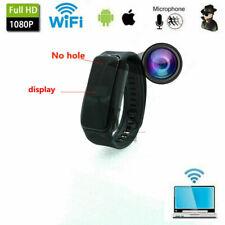 HD 1080P Wifi camera Wristband watch Bracelet  cam Video Camera Recorder DVR