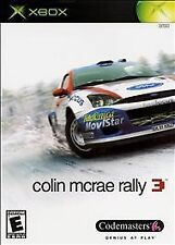 Colin McRae Rally 3 (Microsoft Xbox, 2003) Brand New. Factory Sealed.