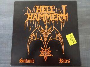 Hellhammer - Satanic Rites LP Original multi coloured  ( Celtic Frost) slayer