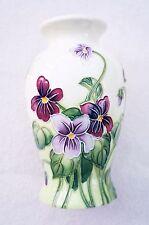 Old Tupton Ware Primrose & Butterfly 15cm Vase