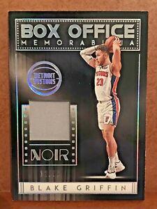 2018-19 Blake Griffin Panini Noir Box Office Memorabilia /99