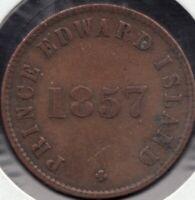 1857 - Prince Edward Island - Self Government - ½ Penny - Superfleas - PE-7C4