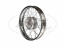 "Spoked wheel - rear 1,85 x 16"" complete in Chrome for Simson S51 KR51/1 Swallow"