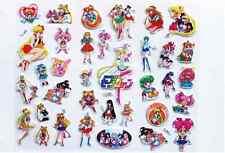 *AU Seller* 1PCS Sailor Moon Puffy Sticker Label For Gift *3 DesignOption*