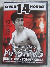 Martial Arts Masters (DVD, 2004) 3-Disc Set Very Good Condition