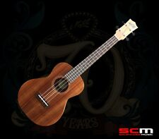 MATON ACOUSTIC-ELECTRIC TENOR UKULELE SOLID AUSTRALIAN BLACKWOOD in HARD CASE