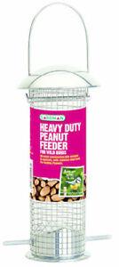 Heavy Duty Polished Aluminium Peanut Feeder Gardman