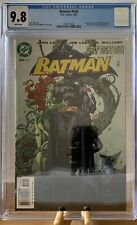 Batman 609 CGC 9.8 1st Tommy Elliot Hush And Poison Ivy Huntress Cat Woman