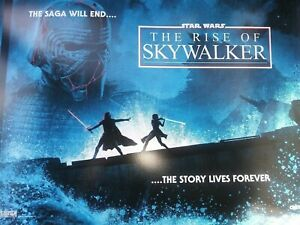 STAR WARS THE RISE OF SKYWALKER Cinemark XD Original Promo Movie Theater Poster