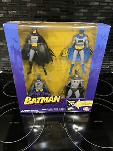 BATMAN Through The Ages Action Figure Gift Set Includes Full Size 48 Page Comic.