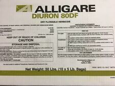 Diuron 80DF Herbicide - 10-5lb bags (Total of 50lbs) (Karmex DF) by Alligare