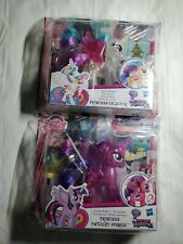 My Little Pony Sparkle Bright Princesses Celestia + Twilight Sparkle Light Up