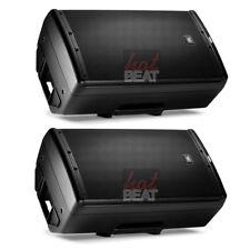 """PAIR of JBL EON612 12"""" Active 2-Way Powered PA 1,000 Watt DJ Speakers Bluetooth"""
