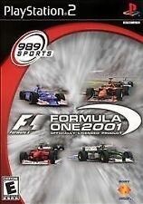 Formula One 2001(PS2), Acceptable PlayStation2, Playstation 2 Video Games